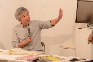 宮嶋康彦先生。現在は写真基礎エレメンツの授業を担当していただいています。